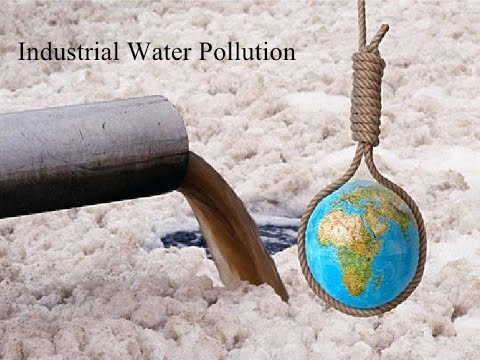 INDUSTRIAL FACTORY CHEMICALS RELEASED POLLUTION WATER AIR POLLUTION VIS
