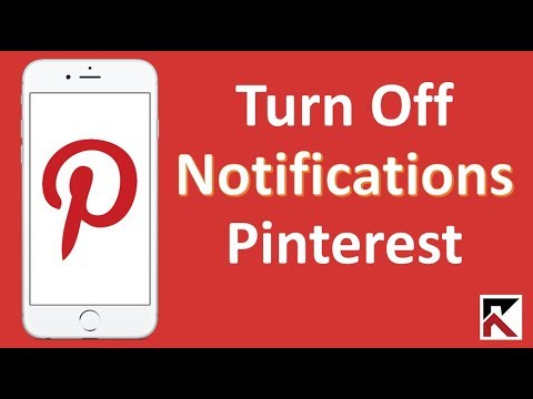How To Turn Off  Pinterest Notifications iPhone