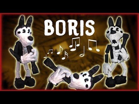 How to Make: Boris the Wolf Marionette! (BATIM)