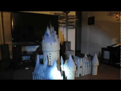 hogwarts castle model part3