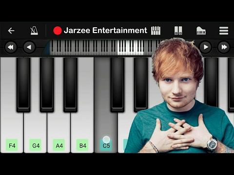Ed Sheeran - Shape Of You - Mobile Perfect Piano Tutorial