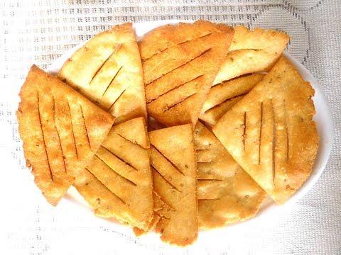 nimki recipe in hindi | Nimki Recipe Video - Crispy Nimki Namkeen - Atta Namkeen Nimki