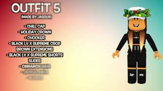 Cute Roblox Outfits! (For Girls) | Music Jinni