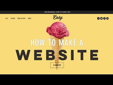 How To Make A Website in less than 10 minutes