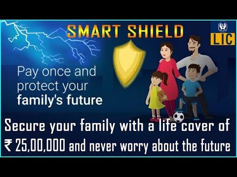 LIC Smart Shield Plan || Single Premium Term Insurance Plan with Lifelong Pension