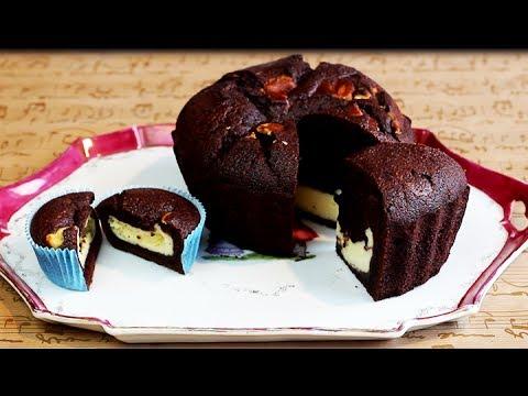 Chocolate Cream Cheese CUPCAKES | Giant Cupcake