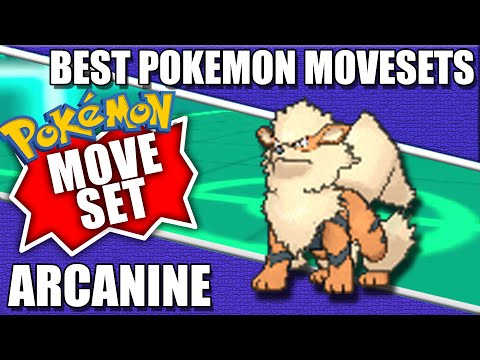 Arcanine Moveset [Disruptor] - Best Pokemon Movesets