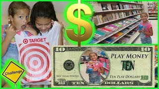 "10 DOLLAR TARGET CHALLENGE ""ALISSON&EMILY"""