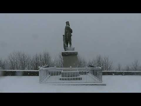 Stirling Snow  (slo-mo 4K)