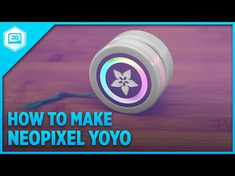 How To Make LED Yoyo with Circuit Playground