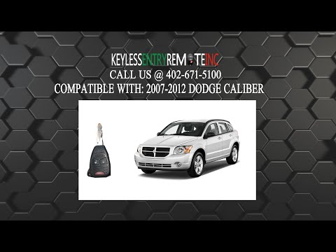 How To Replace Dodge Caliber Key Fob Battery 2007 2008 2009 2010 2011 2012