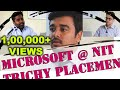 3 Rounds - Microsoft Job Interview - Mohit Agrawal - Rejection story - Campus Placement