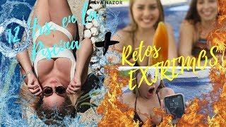 12 HORAS EN LA ALBERCA - RETOS EXTREMOS - Maya Nazor