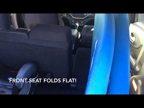 Jeep Cherokee 2014 and NEWER: Surfboard Fit Test