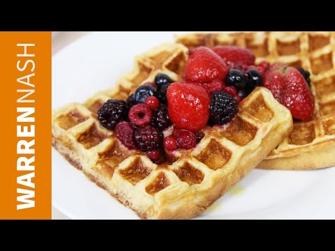 Waffle Recipe - Tasty & Easy to make at Home - Recipes by Warren Nash