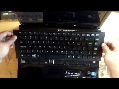 How to replace keyboard sony vaio vpcea45fg PCG-61212 series