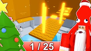 [1/25] CHRISTMAS STAGES in Tower of Hell... | Roblox
