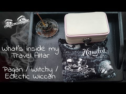 Witchy Wednesday - My Travel Altar - Pagan / Witch / Eclectic Wicca (UK)