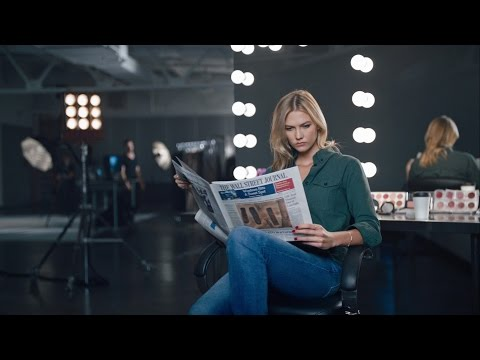 Karlie Kloss Interview on Why She Makes Time to Read The Wall Street Journal