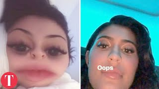 10 Biggest Celebrity Snapchat FAILS