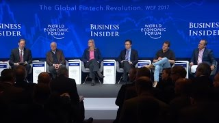 DAVOS 2017 Bitcoin Discussion Highlights, The Global Fintech Revolution
