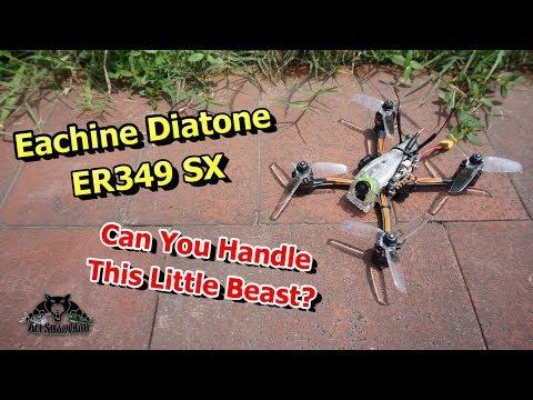 Xxx Mp4 Introducing Eachine Diatone ER349 SX 3 Inch 4S FPV Ripper 3gp Sex