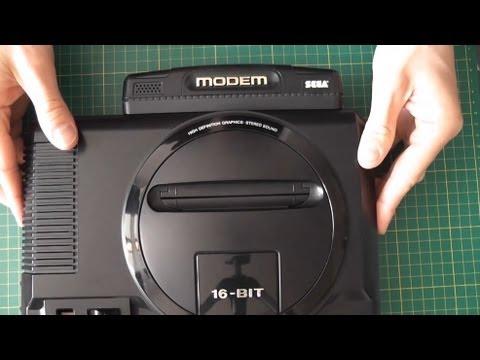 SEGA Mega Drive Modem - Unboxing + Review - Game Toshokan Bundle セガゲーム図書館
