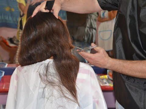 JOAN military hair cut girl