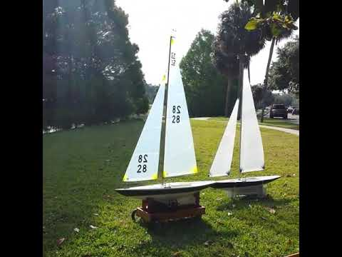 Sailing on Lake Estelle Orlando Florida