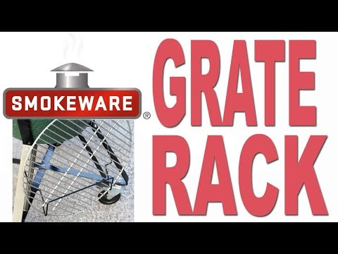 Smokeware's Grate Rack for the Big Green Egg