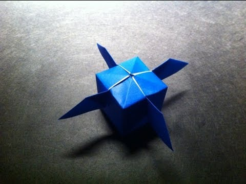 Origami Artificial Satellite