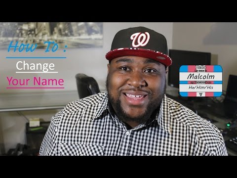 How to : Name Change -FTM