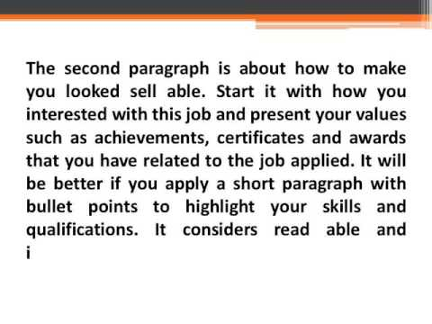 The Medical Cover Letter Format Writing Guide