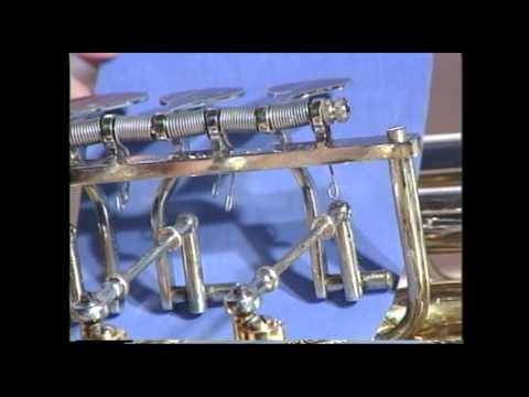 Tuba Repair #4  Rotary Valve Lubrication  -  Jeff Funderburk