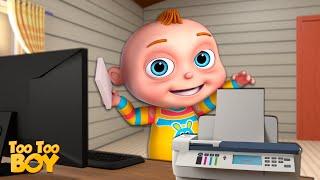 Printer Episode   TooToo Boy   Cartoon Animation For Children   Videogyan Kids Shows   Funny Comedy