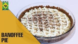 Homemade Banoffee pie| Lazzat | Masala TV Shows | Samina Jalil