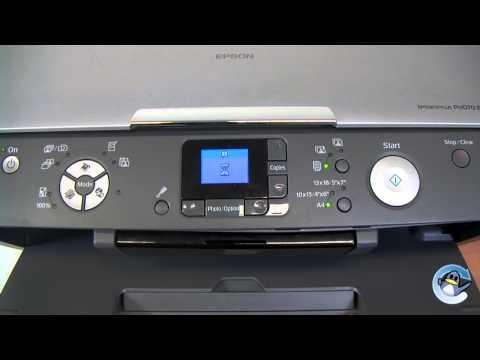 How to Clean Print Head on a Epson Stylus Photo RX520 Printer