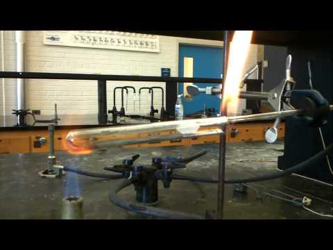 Decomposition of Copper (II) Oxide Setup