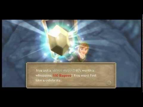 Zelda Skyward Sword: How to unlock Rupee Dowsing ability