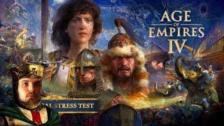 Das erste mal anspielen! Was taugt das neue AoE? - Age of Empires 4 - Livestream Abend!