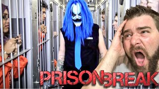 KILLJOY KLOWN ESCAPED PRISON! CHINESE SPACESTATION CRASHES INTO HOUSE! BACKYARD MATCH VS NEW CLOWN!