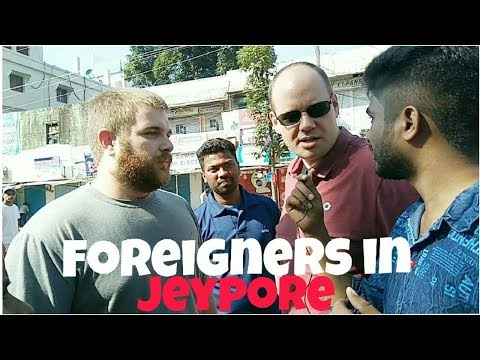 Foreigners in Jeypore