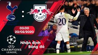 🔴Nhận định, soi kèo Tottenham vs RB Leipzig 3h ngày 20/2/2020 - Vòng 1/8 Champions League 2019/2020