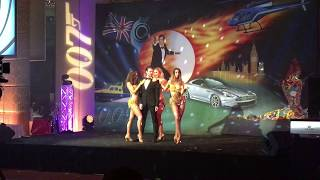 FX Entertainment Aus Presents, James Bond and Show girls
