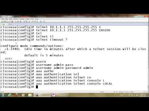 How to change cisco asa enable password -