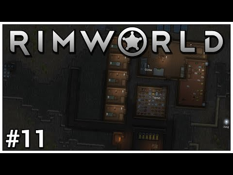 Rimworld - #11 - Turret Trouble - Let's Play / Gameplay / Construction