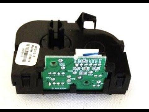 How to change the travel module on a Chamberlain belt drive  garage door opener