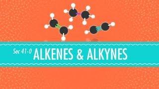 Alkenes Alkynes Crash Course Chemistry 41