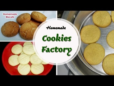 Homemade Cookies Factory || Homemade Biscuit / Cookies Recipes.