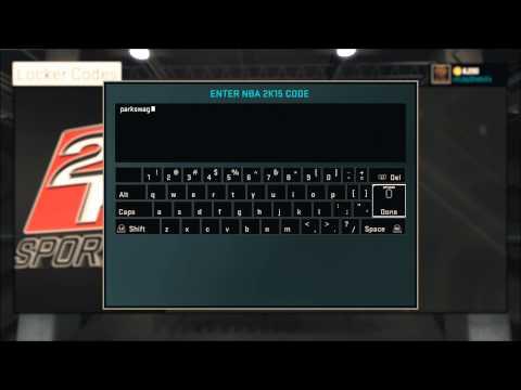 NBA 2K15 Locker Codes - Free VC! PS4/PS3/XBOX ONE/XBOX 360